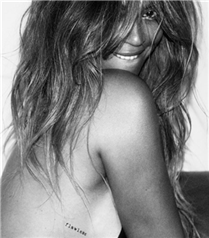 Beyonce X Flash Tattoo