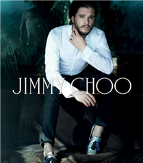 Kit Harrington Jimmy Choo kampanyasında
