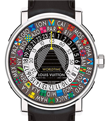 Louis Vuitton`dan Escale Worldtime saat
