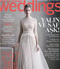 Martha Stewart Weddings Kış 2015-2016 Bayilerde