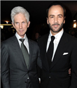 Tom Ford ve  Richard Buckley evlendi
